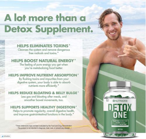 Detox One Benefits