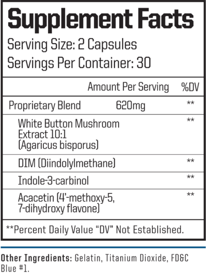 estro one nutritional facts