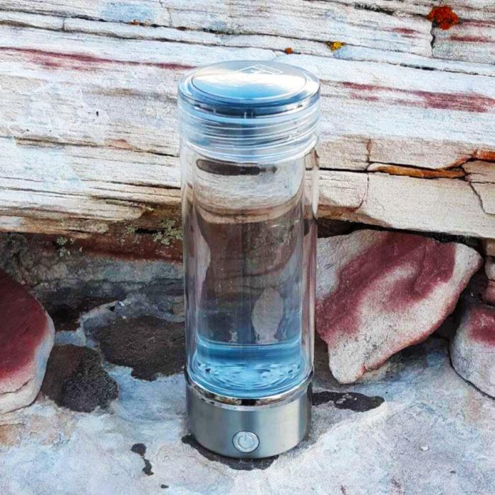 alkaline water bottle redrock