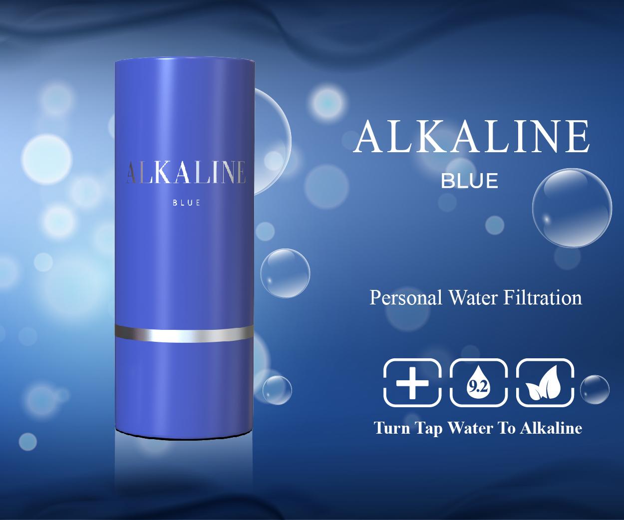 Alkaline Blue Banner