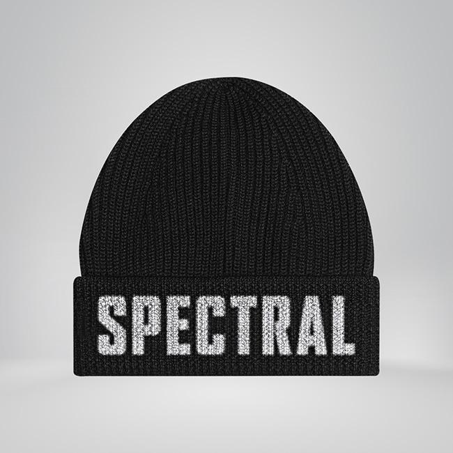 Black Spectral Beanie