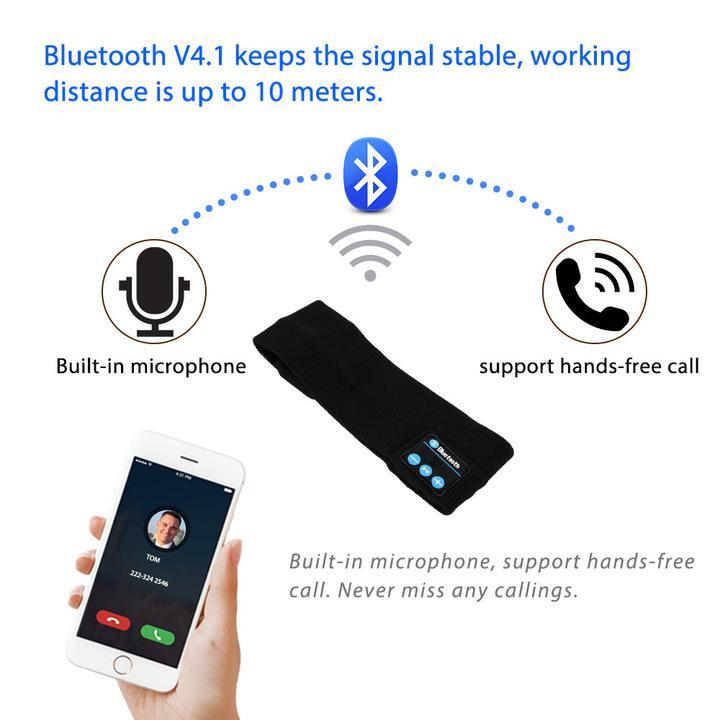 Bluetooth_Audio_Speaker_Sports_Sweatband_Headwear_Strap