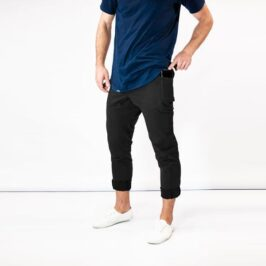 Cafe_Racer_Fitspi_Black_Joggers_with_Pockets