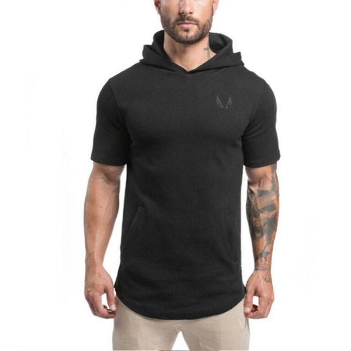 Hooded_Tee_Short_Sleeve_Premium_Cotton_black_men