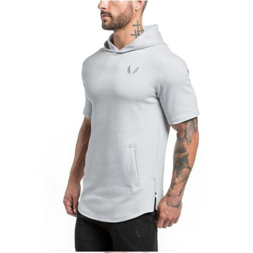 Hooded_Tee_Short_Sleeve_Premium_Cotton_top_mens