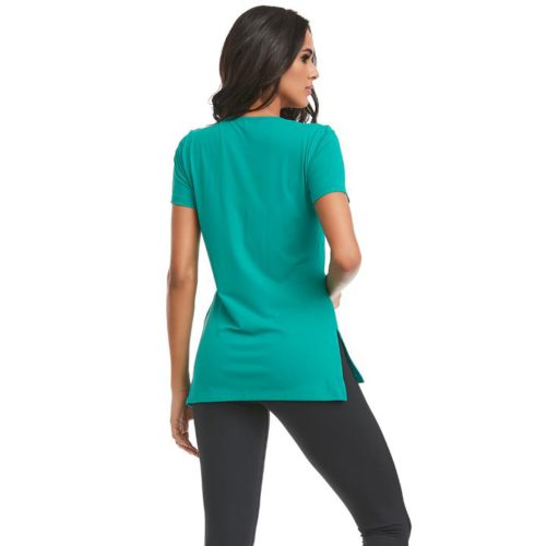 LMK_T_Shirt_Spectral_Body_Turquoise_Shirt_Womens