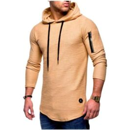 Mens_Pullover_Side_Arm_Zip_Hoodie_green