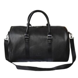 Pebbled_Leather_Weekend_Bag_Stylish_Travel_Bags_Best_Leather_Duffle_Bag