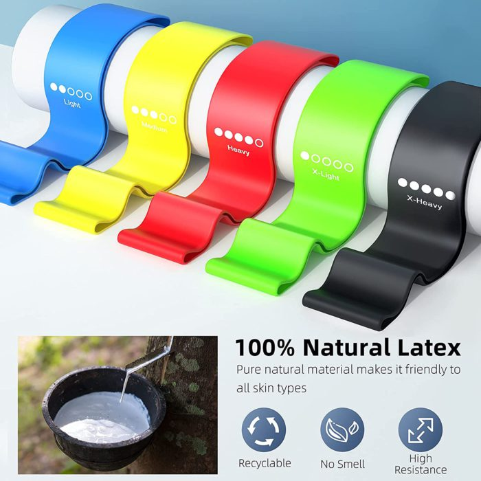 Resistance band colors
