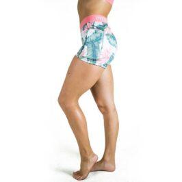 Wanderlust_Floral_Shorts_Fitspi_Floral_Booty_Shorts