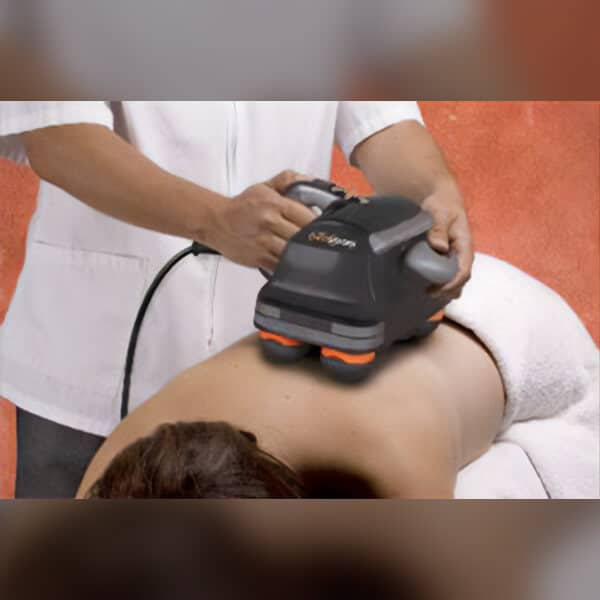 chiropractor percussion therapy