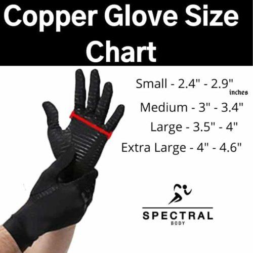 Copper Glove Size Chart