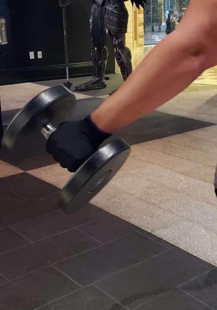 corona virus gym workout gloves