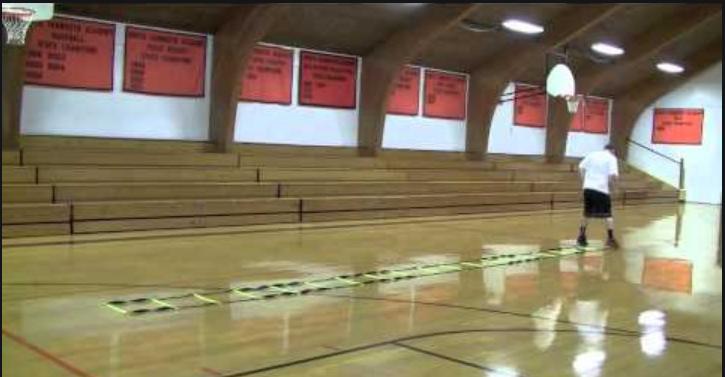 basketball agility ladder