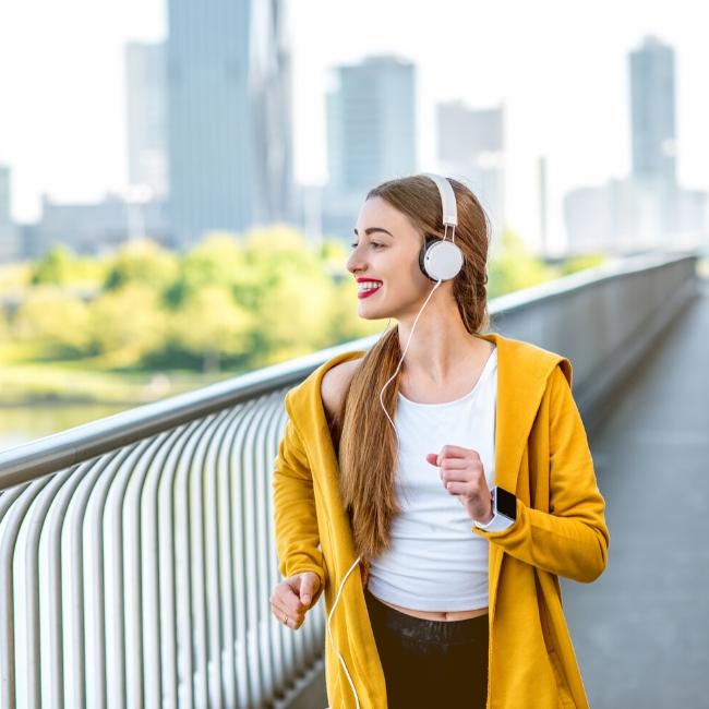 morning jog vitamin c