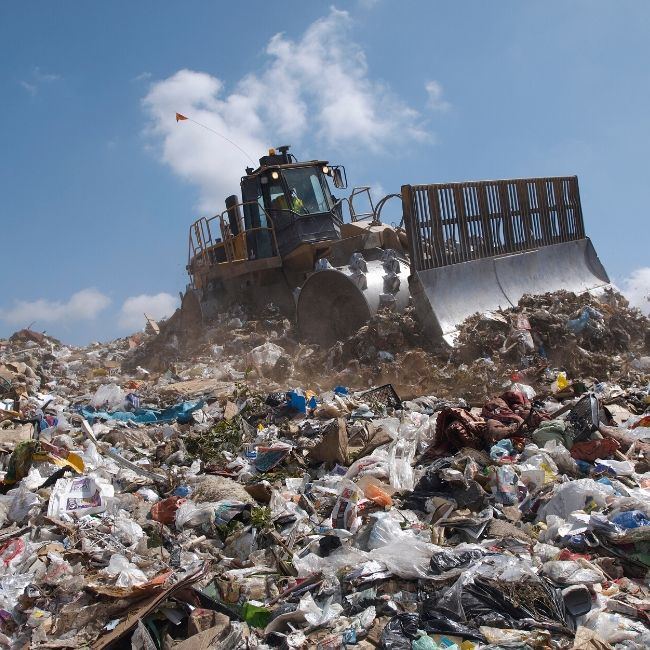 alkaline water bottles landfill
