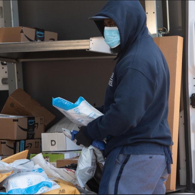postal worker copper gloves