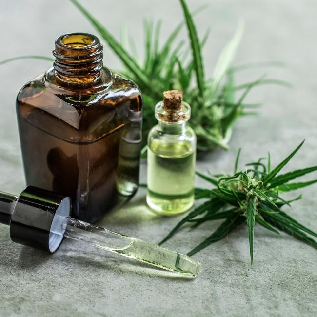 cbd lotion massage