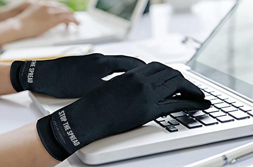 copper gloves keyboard