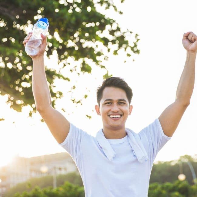 Fitness Goals Alkaline Water