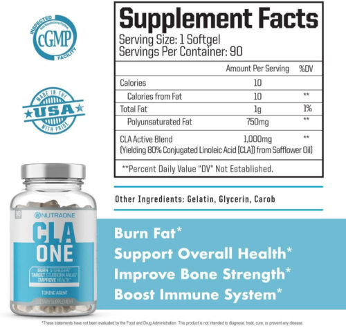 cla one supplement facts