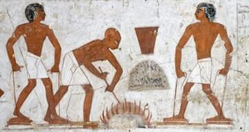 egyptian copper gloves