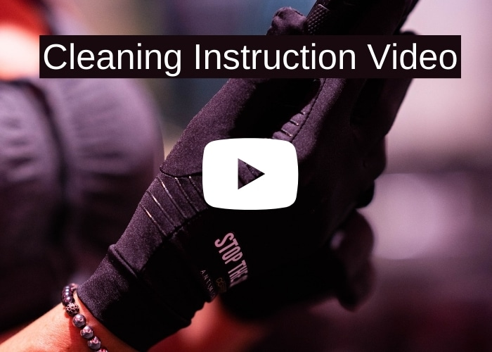 Copper Workout Glove Cleaning Instruction Video