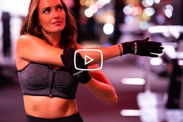 Copper Workout Gloves