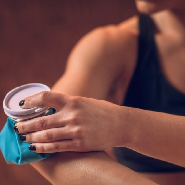 Percussion Massager Elbow Pain
