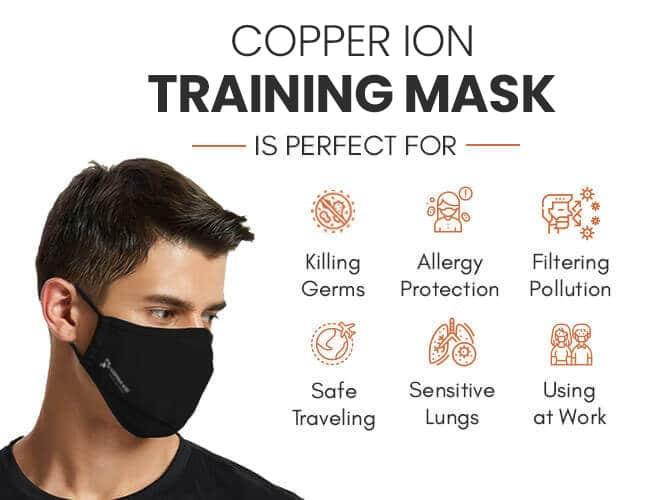 copper training mask