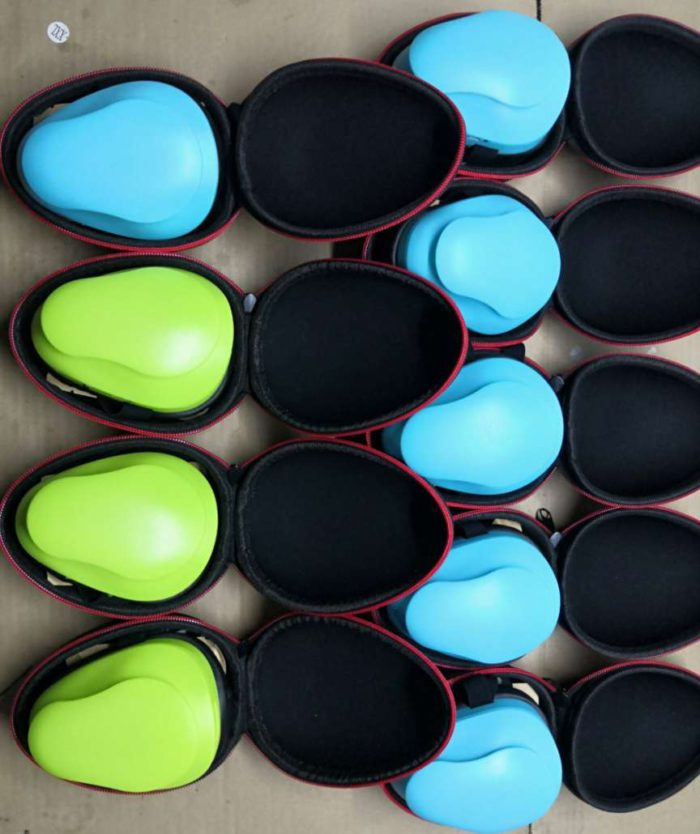 mask air purifying carrying cases