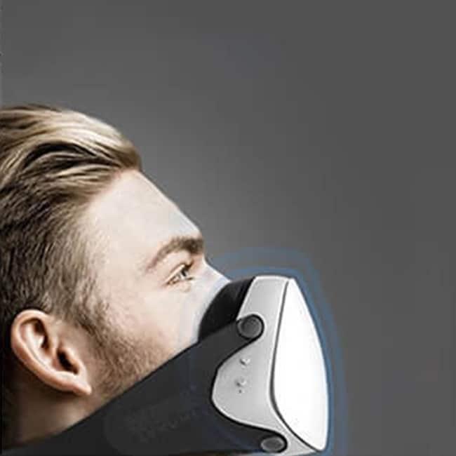 training mask built in fan
