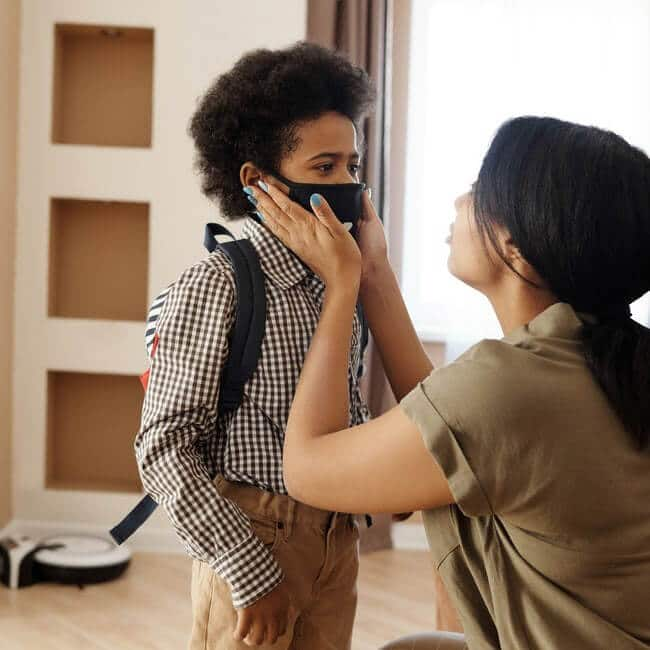 antiviral face masks for kids