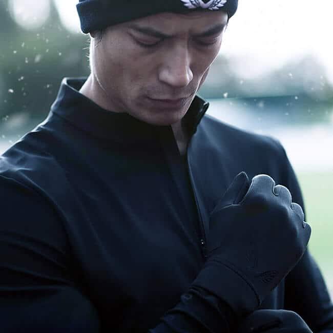 outdoor copper gloves
