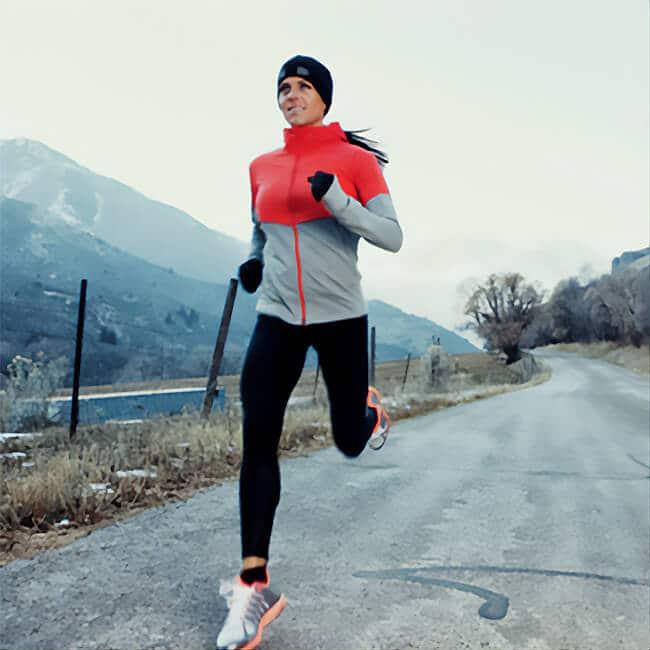 outdoor jogging copper gloves