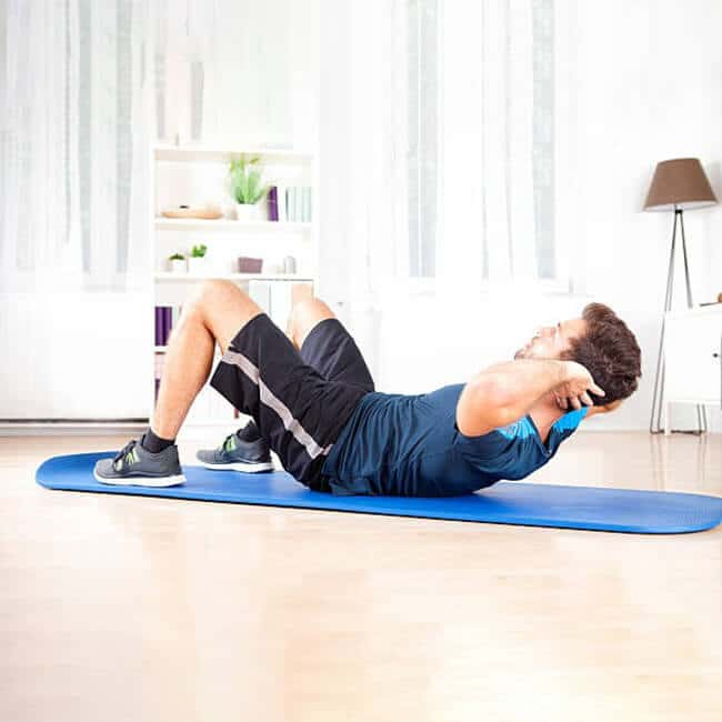 alternatives to using ab roller crunch
