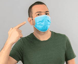 dangers of reversible antiviral face masks