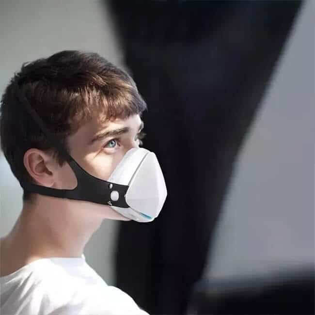 spectral body's air purifying training mask