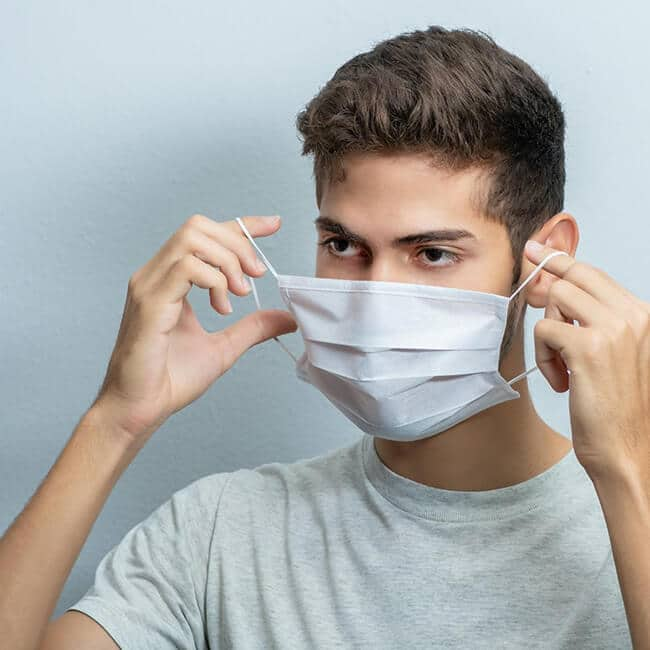 Proper Face Mask Care Technique
