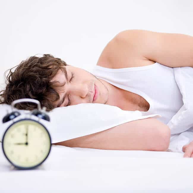 percussion massager improves quality of sleep