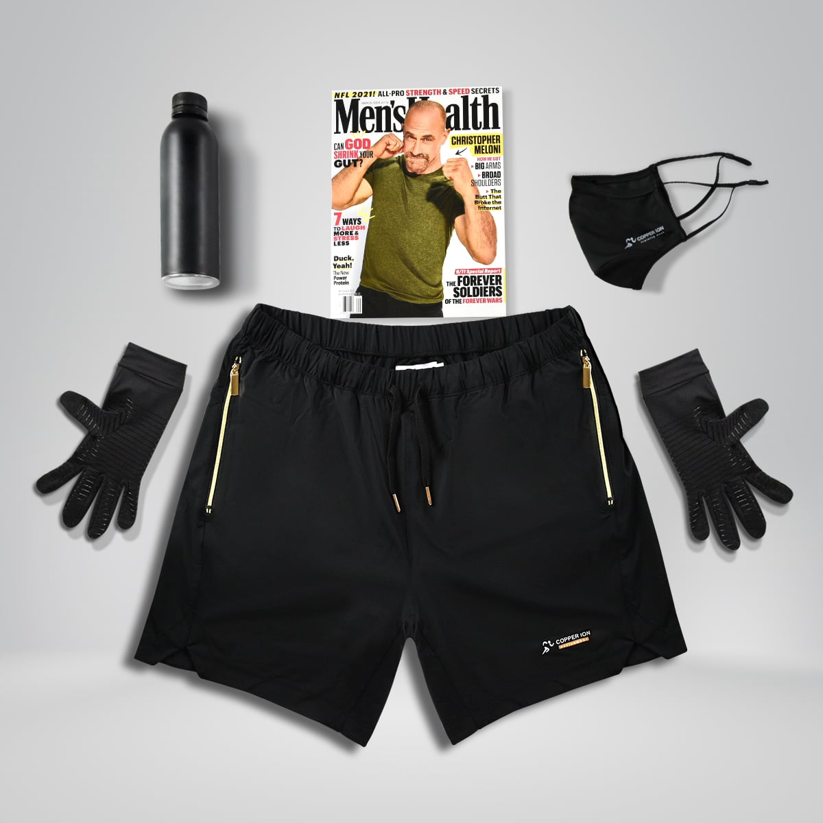 Copper Ion Activewear Shorts