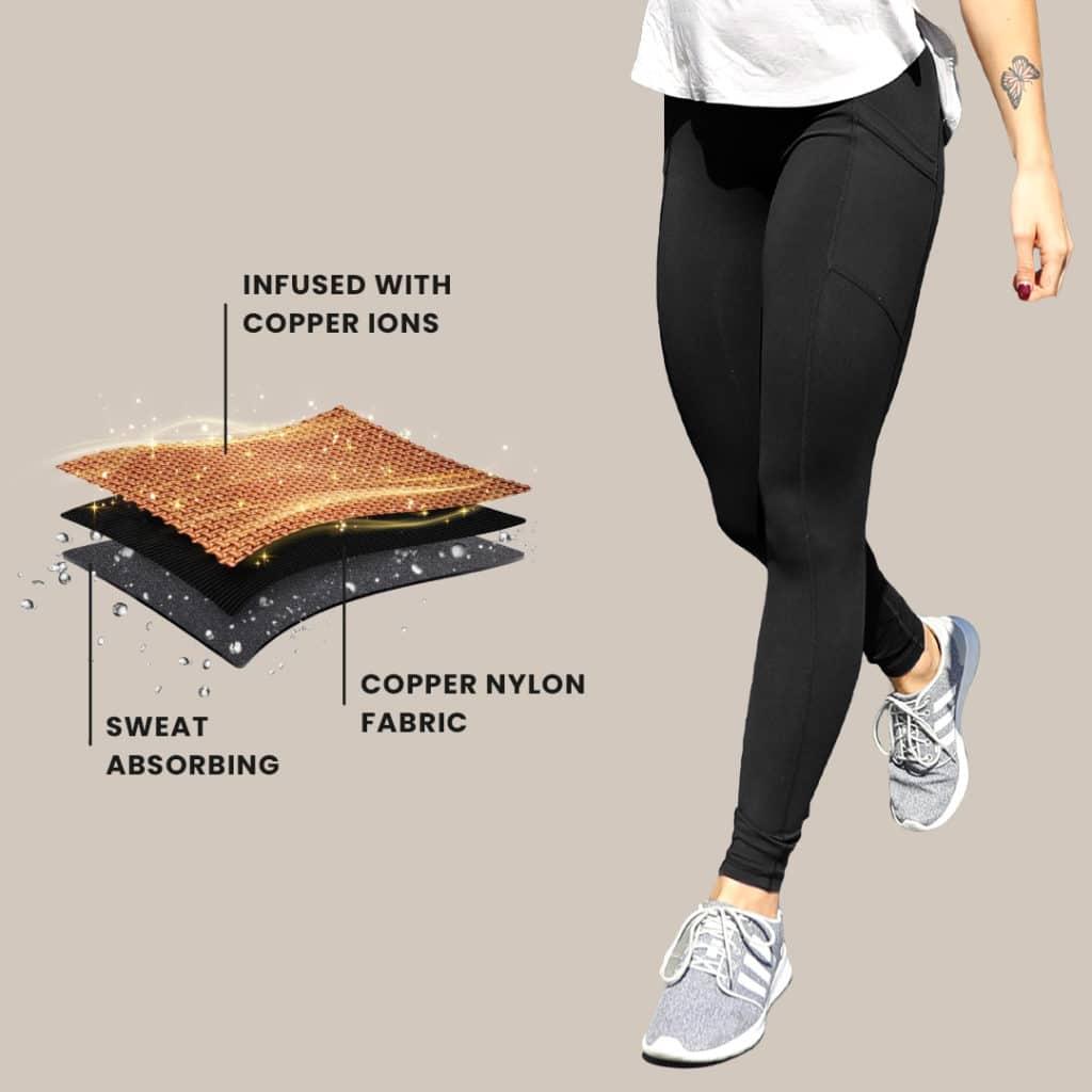 Copper Fabric Technology Leggings