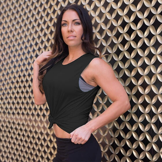 Copper infused tank top womens