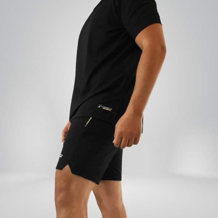 Model wearing Copper Shorts