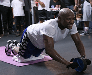 Ab Roller Exercise For Boxing