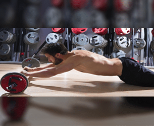 Ab Roller Exercise Using A Barbell Thumbnail