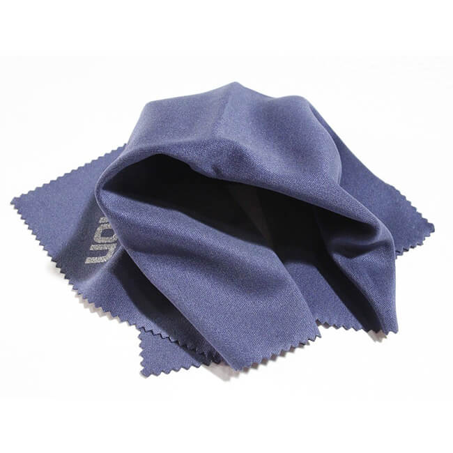 wipe using microfiber cloth