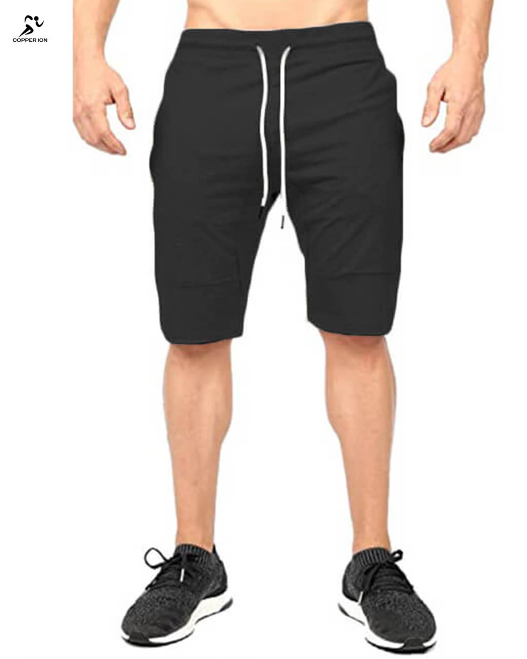 Copper Infused Shorts Mens Black