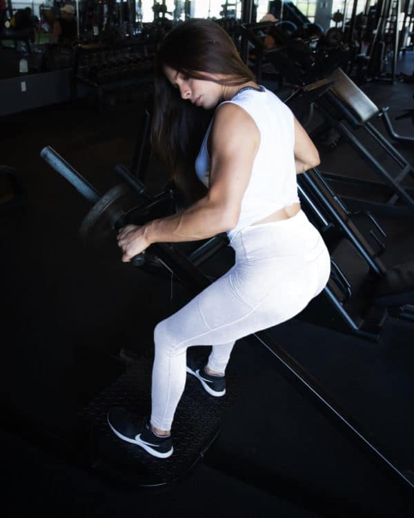copper infused white leggings gym
