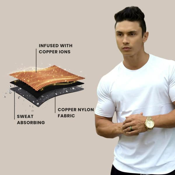 copper ion shirt technology